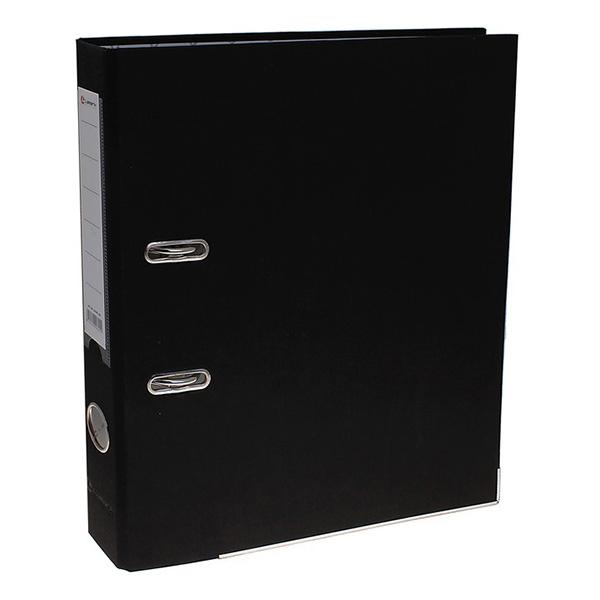 Анонс-изображение товара папка-регистратор lamark pp 50 мм черный , металл. окантовка, карман af0601-bk